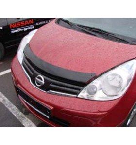 Защита для капота на Nissan note