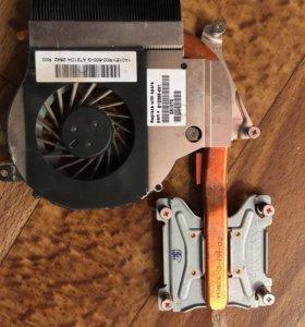 Кулер для ноутбука с системой охлаждения