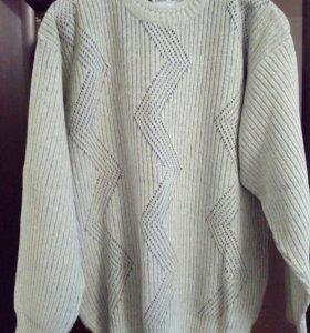 Мужской пуловер,р.50-52
