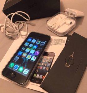 iPhone 5 (16gb) Black работает всё