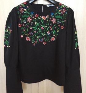 Новая Блузка Zara 42-44р.