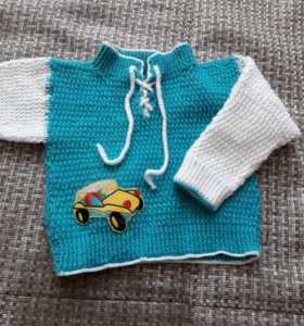 Детский свитер ручной работы