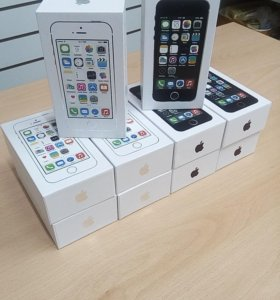 Новые iPhone 5S 16/32/64gb в упаковке