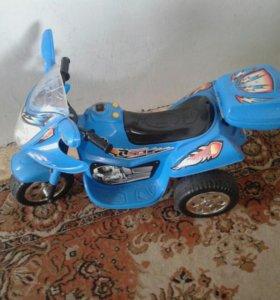 Детскии мотоцикл б/у