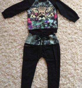 Новый стильный костюм для девочки
