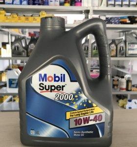 Масло MOBIL SUPER 2000 10W-40 4л