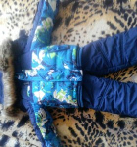 детский зимний костюм -тройка на мальчика