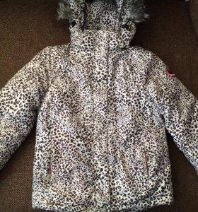 Куртка горнолыжная, рост 134