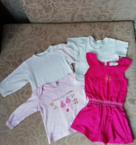 Одежда для девочки 0.6-1,5 года