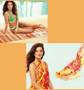 Пляжный коврик Avon новый и парео