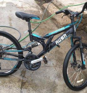 Велосипед,rush