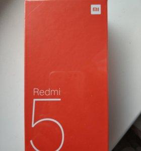 Продам новый запечатанный телефон Xiaomi redmi 5