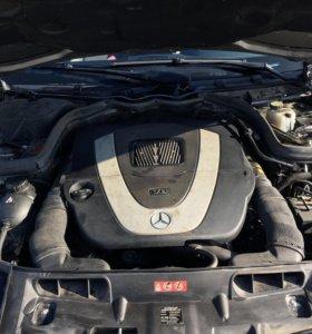 Двигатель мерседес w204 м272 2,5l на запчасти