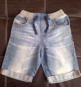 Шорты джинсовые р.116
