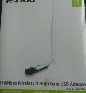WiFi USB-адаптер. Антенна для приёма-раздачи WiFi