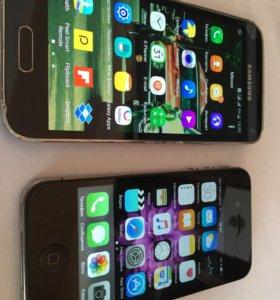 Samsung galaxy s5mini16g iPhone 4s 16g