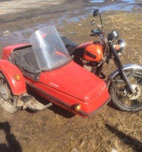 Мотоцикл ИжЮп5 с коляской 1992г