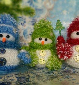 Снеговики ⛄⛄⛄Приносят в дом радость 😍