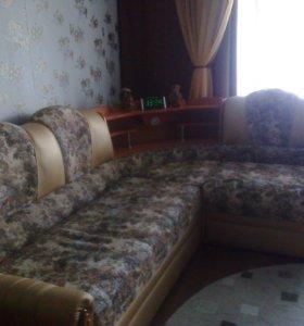 Угловой диван (раскладной)