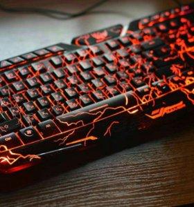 Модная игровая клавиатура.