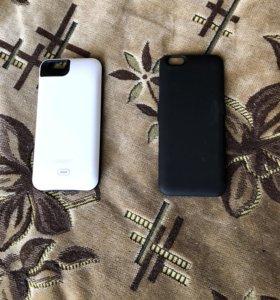 Чехол зарядное на iPhone 6/6s