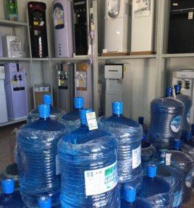 Вода бутилированная и кулеры