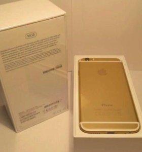 Телефон айфон 6 золотой