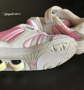 Кроссовки на роликах Heelys размер 31-32