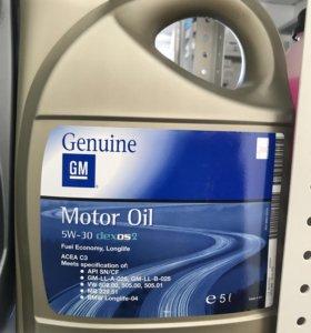 Масло моторное GM dexos2 5W-30 5л