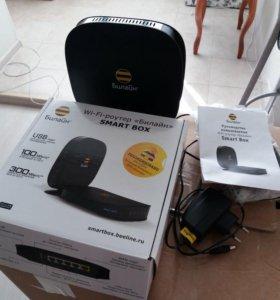 Wi-Fi- роутер Билайн Smart box