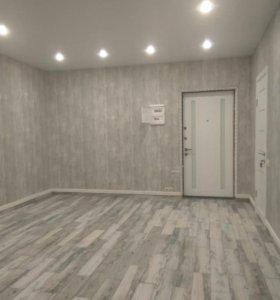 Под ключ ремонт квартира делаем.