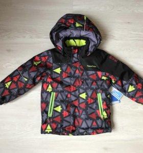 Новая зимняя куртка tokka tribe 98 р