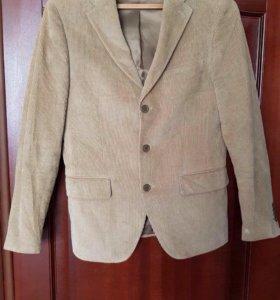 Вельветовый пиджак Италия