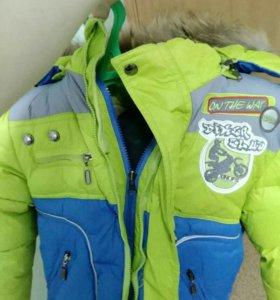 Куртка на мальчика 4 лет