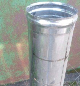 Труба для дымохода из нержавеющей стали.