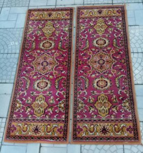 2 ковровые дорожки (шерсть)