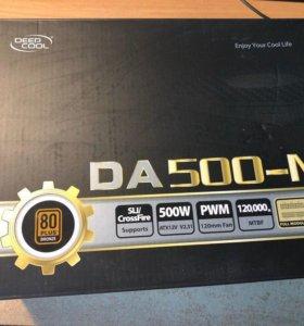 Блок питания DeepCool DA500-M 500 Вт