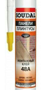 Клей монтажный каучуковый Soudal Монтажный клей 48