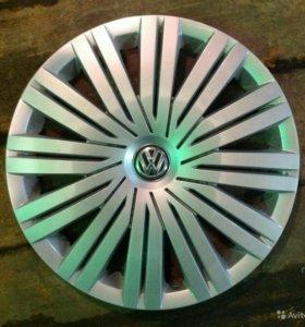 Продам новые оригинальные диски с колпаками r15 фо