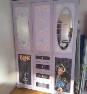 Детская мебель  для девочки варианты
