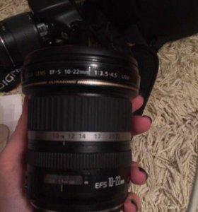 Canon 550d +3 объектива