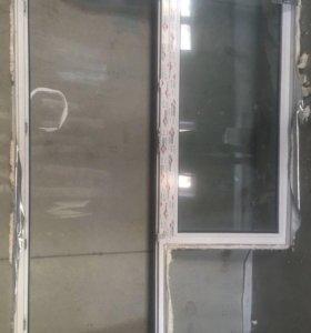 Балконная дверь (новая)