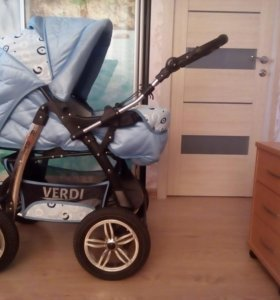 Продается детская коляска 3 в 1(зима-лето)