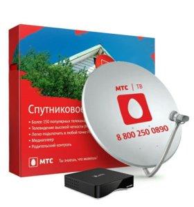 Комплект спутникового ТВ МТС новый