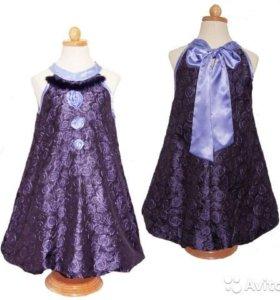 Платье нарядное новое ViDay 146 (р.11 лет)