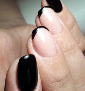 Маникюр, наращивание ногтей...