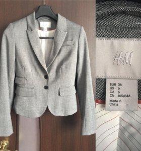 Пиджак новый, только бирки оторванны