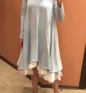 Платье Mazaribaz велюровое