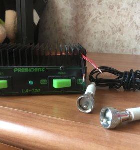 Усилитель для CB радиостанций.