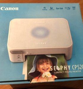 Новый фото принтер canon cp520